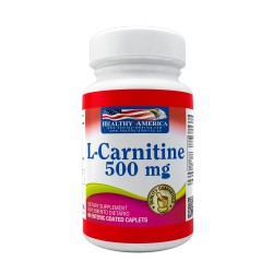 L-Carnitine 500 mg 60 Enteric Coated Caplets