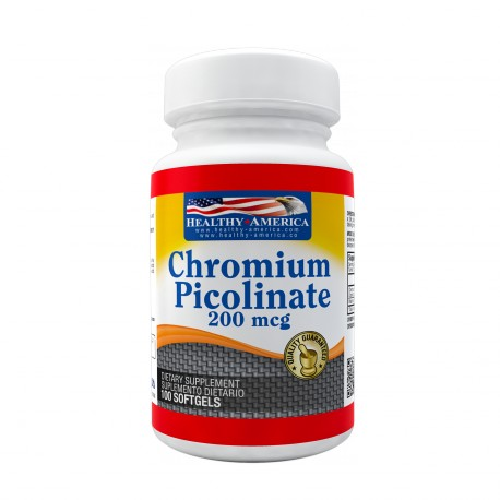 Chromium Picolinate 200mcg 100 Tablets