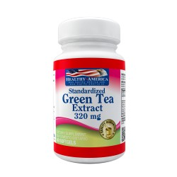 Green Tea Extract 320mg 60 Softgels