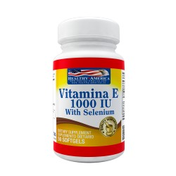 Vitamin E 1000 IU With Selenium 50 Softgels