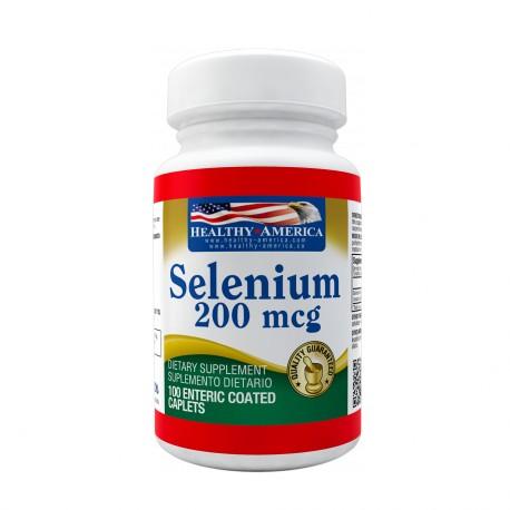 Selenium 200mcg x 100 Caplets