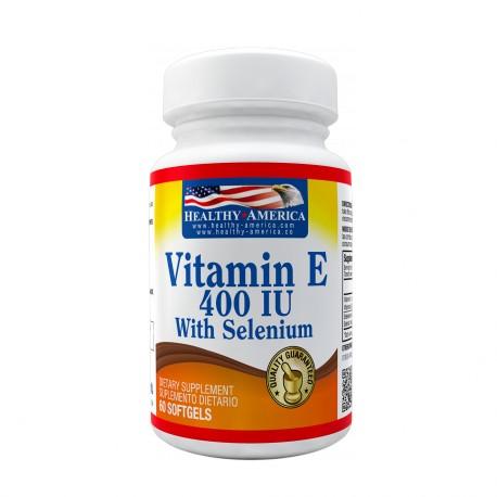 Vitamin E 400 IU With Selenium 60