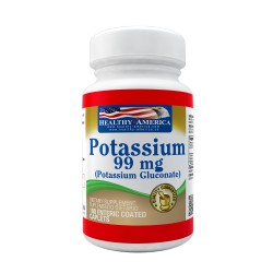 Chelated Potassium 99mg 100 Enteric Coated Caplets