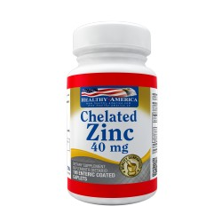 Chelated Zinc 40mg 100 tablets