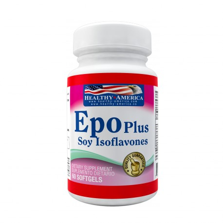 EPO plus Soy Isoflavones 60 Softgels