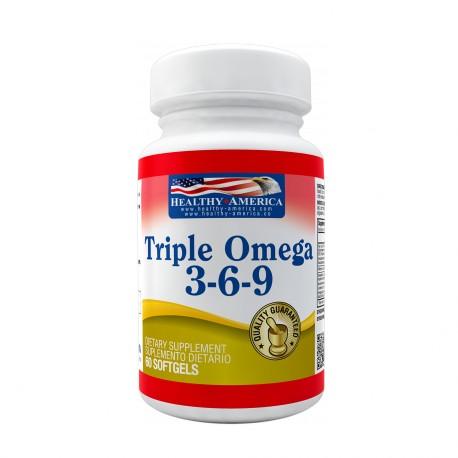 Triple Omega 3-6-9 1200mg 60 Softgels