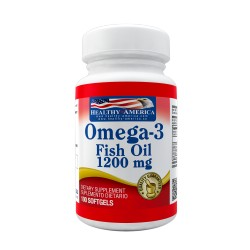 Omega-3 Fish Oil 1200 mg 100 Softgels