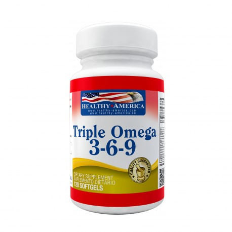 Triple Omega 3-6-9 1200mg x 120 Softgels