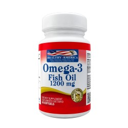 Omega-3 Fish Oil 1200 mg x 60 Softgels