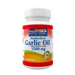 Standardized Garlic Oil 1500mg 100 Softgels