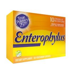 EnteroPhillus 215mg 30 Capsules Unit Box