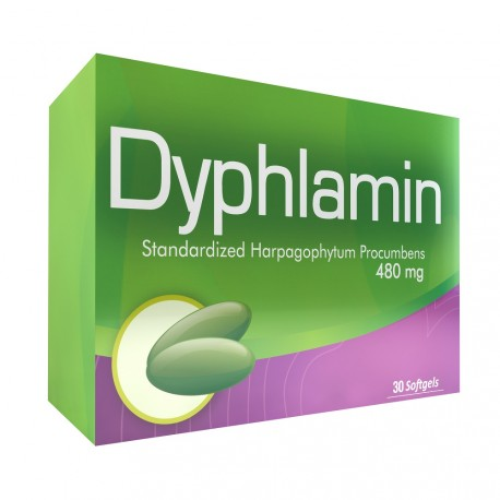 Dyphlamin 30 Softgels Blister Unit Box