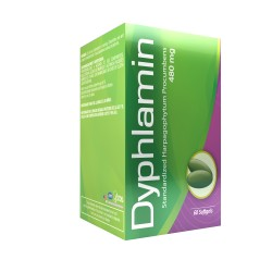 Dyphlamin 60 Softgels Blister Unit Box