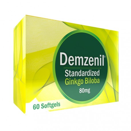 Demzenil 80 mg x 60 Softgels