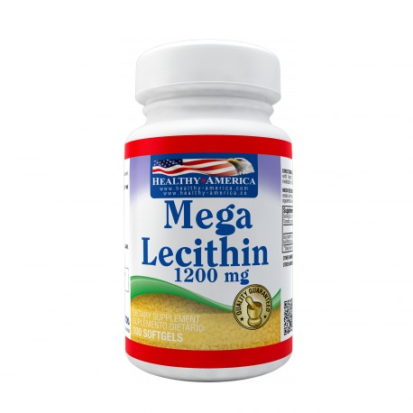 Mega Lecithin 1200mg 100 Softgels