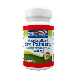 Saw Palmetto 320 mg 60 Softgels