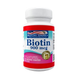 Biotin 900mcg 100 Enteric Coated Caplets