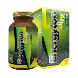 EnergyTon Plus 100 Softgels Glass Bottle