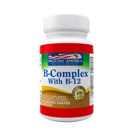 B-Complex with B12 90 Enteric Coated Caplets
