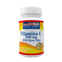 Vitamin C 500mg with Rose Hips x 60