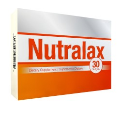 Nutralax 30 Softgels Blister Unit Box
