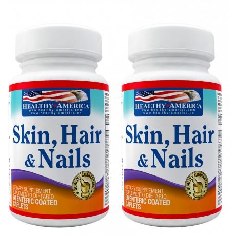 Skin Hair and Nails x 60 Caps Segunda Caja 50% Off