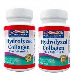 Hydrolyzed Collagen 1500mg x 60 Capsules Segundo Frasco 50% Off