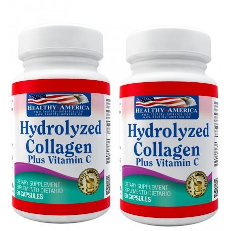 Hydrolyzed Collagen 1500mg x 60 Capsules Segundo Frasco 50% Off