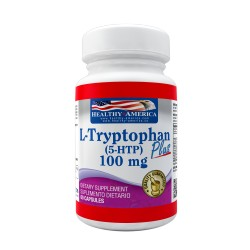 L-Tryptophan Plus (5-HTP) 100 mg 60 Capsules