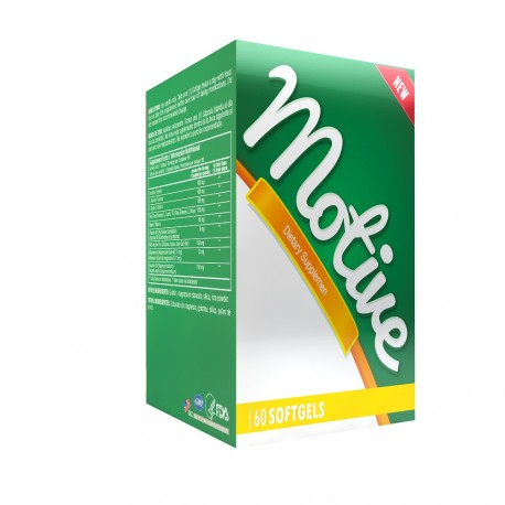 Motive 60 Softgels Blister Unit Box