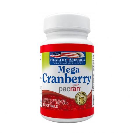 Mega Cranberry 1050mg W/ Vitamin C & E  60 Softgels