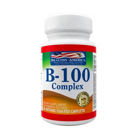 B-100 Complex 50 Tablets