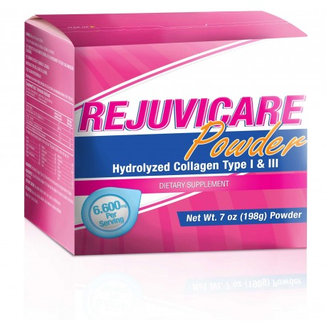 RejuviCare Powder Hydrolyzed Collagen 198g