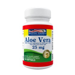 Aloe Vera Gels 25mg 60 Softgels