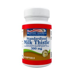 Milk Thistle 300mg 60 Softgels